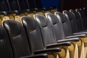Theater seat back