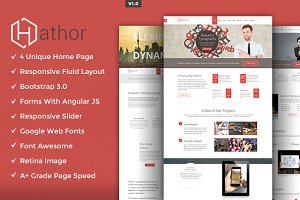 Hathor HTML5 Template