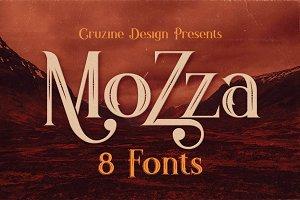 Mozza Typeface