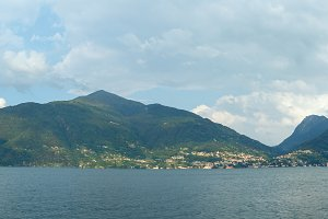 Lake Como (Italy) view