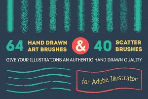 Art and scatter brushes pack