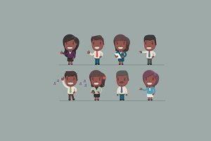 Character set 2: Afro american