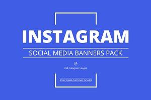 Instagram Social Media Banners Pack