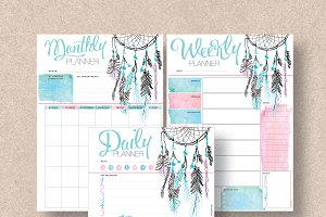 Dream Catcher Planner: Half & Letter