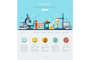 Science Web page