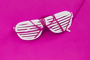 Disco Sunglasses Set