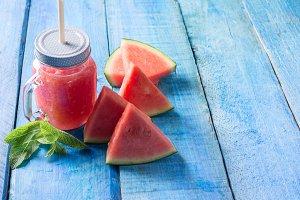 watermelone smoothie