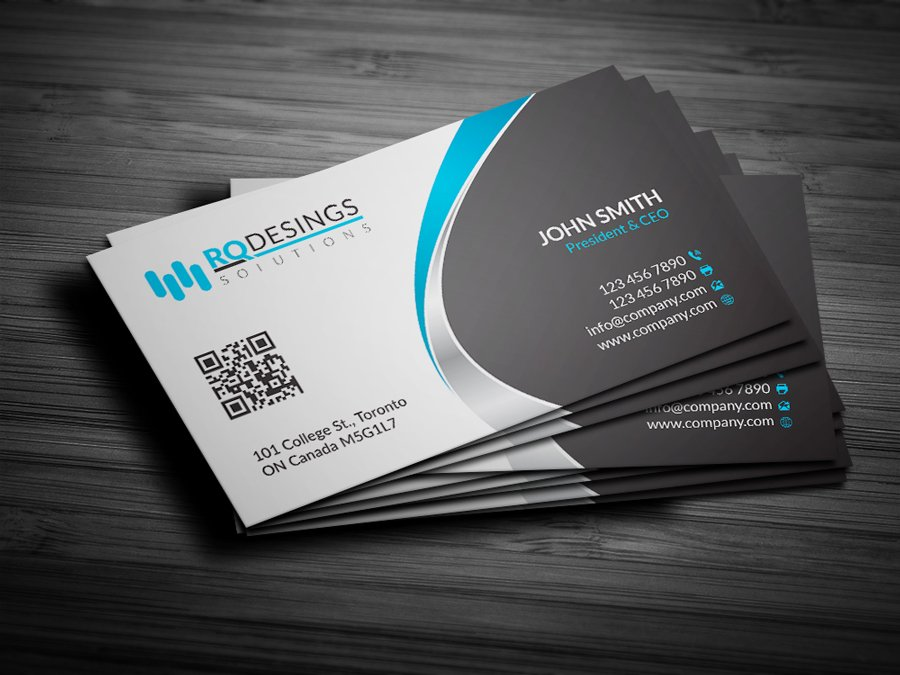 Corporate Business Card 11 Business Card Templates