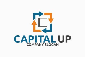 Capital Up C Letter Logo