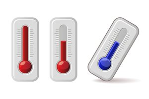 Thermometers Icons