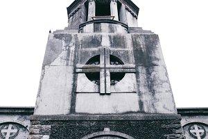 Details of a gothic church