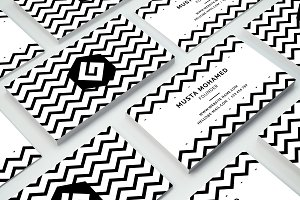 Clean Minimal Business Card - 09