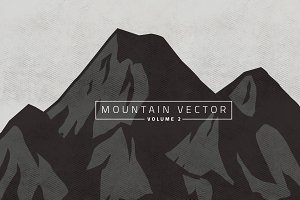 Mountain Vector V.2 ( 50% OFF! )