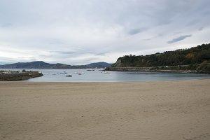 Beach in Getaria