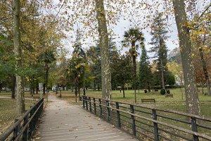Park entrance Azpeitia