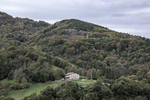 Landscape around Elduain