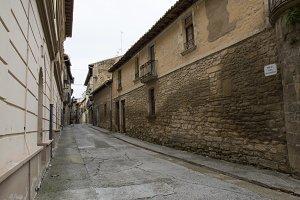 Olite village street