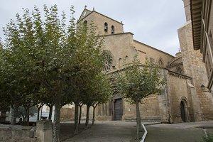 Olite village church