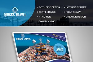 Quicks Travel Flyer Template