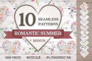 Romantic Summer Patterns Set 20%OFF