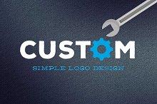 Custom Simple Logo Design