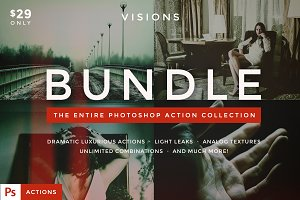 VISIONS - Photoshop Action Bundle
