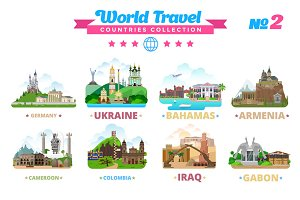 World Travel Countries Collection 2