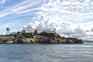 Alcatraz Island Panoramic