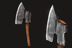 Goosewing Hewing Axe