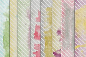 Color Crush 10 {painted chevrons}