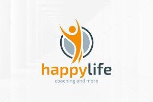 Happy Life Logo Template
