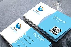 Vista Corporate Business Card