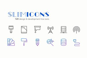Design & Development Line Icons