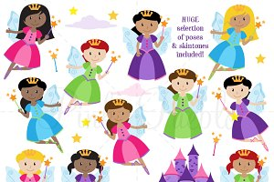 Fairy Clipart and Vectors