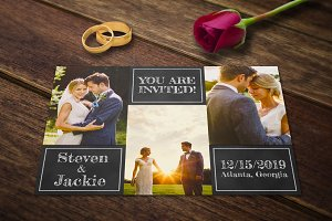 Wedding Announcement Templates Cards