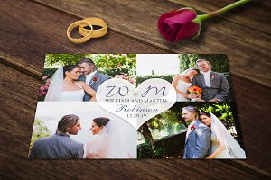 Wedding Templates Wedding Card Photo