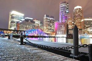Boston Northern Avenue bridge