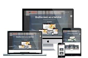 AT Web Idea Onepage Joomla Template