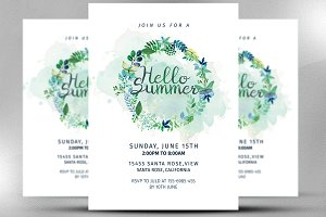 Hello Summer Invitation