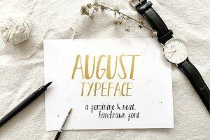 August Script
