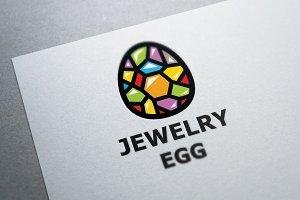 Diamond Egg Logo Template