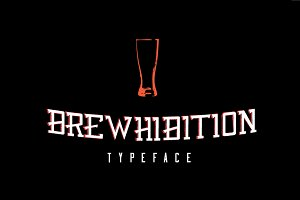 Brewhibition Typeface