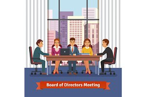 Directors board business meeting