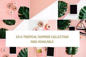TROPICAL SUMMER COLLECTION 12 IMAGES
