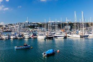 Brixham Marina Devon UK