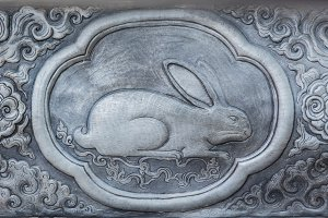 Chinese Zodiac Signs of rabbit.