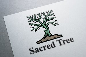 Sacred Tree Logo Template