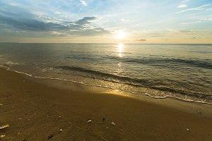 Beautiful sea and beach.