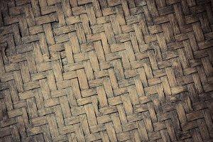 Bamboo Strip Interwoven pattern