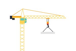 Lifting Crane Icon